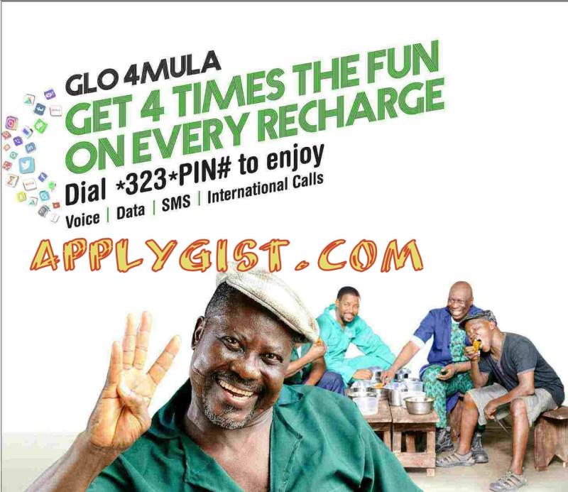 Glo 4X Recharge Bonus