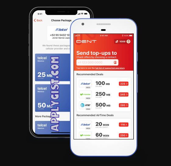 Dent Free Mobile Data App - Applygist Tech News