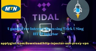Uganda Free Internet Browsing Trick USing HTTP Injector applygist.com