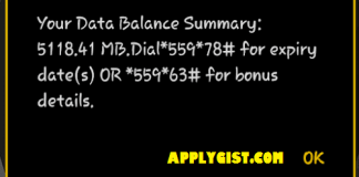 How to get MTN NG WeChat 5GB for N50