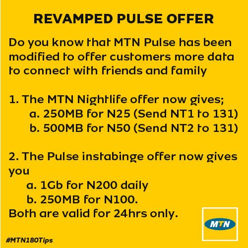 REVAMPED MTN PULSE OFFER