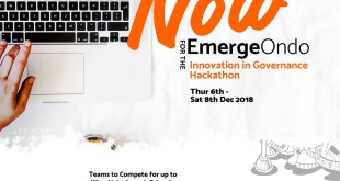 Apply to participate in EmergeOndo Hackathon!