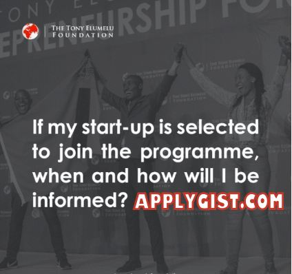 Apply Now 2019 Tony Elumelu Foundation Grant $5000