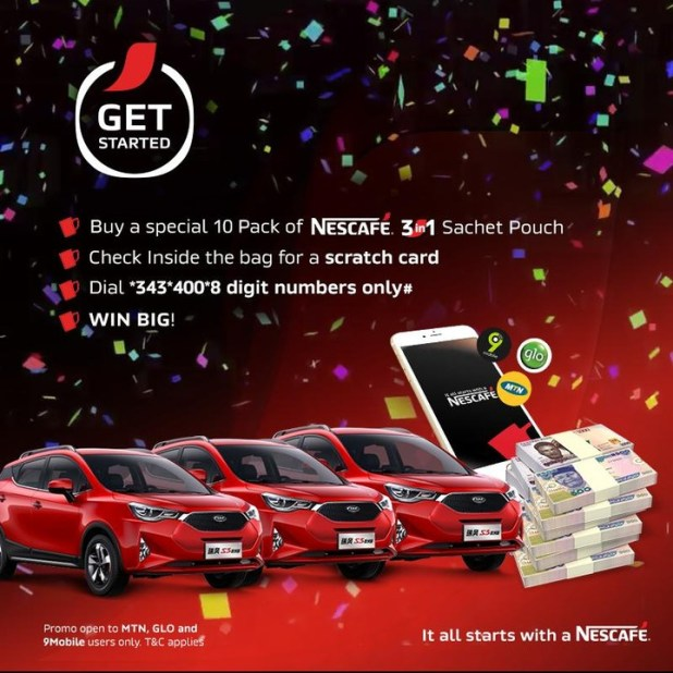 Cars, airtime and cash