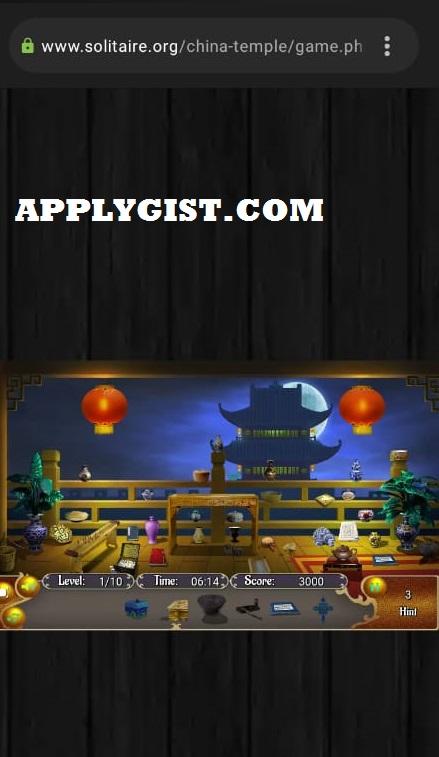 Online Solitair Video Game