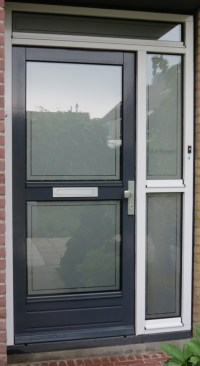 Frosted Window Film for your doors | APPLYitYourself