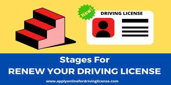 renewal of drivers license online