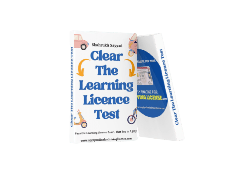 Clear The Learning License Test eBook 3d cover