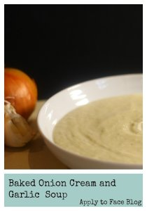 Baked Onion and Cream Soup