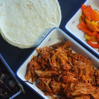 Easy Make Ahead Mexican Pulled Pork Wraps