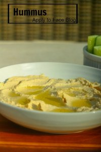 pin me hummus recipe