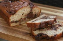 banana and nutella bread