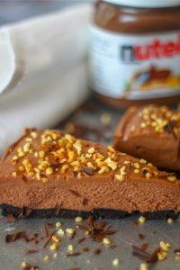 pin nutella cheesecake
