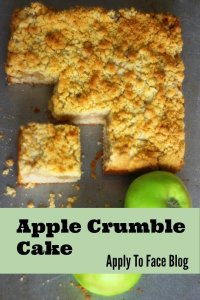 pin me apple crumble cake