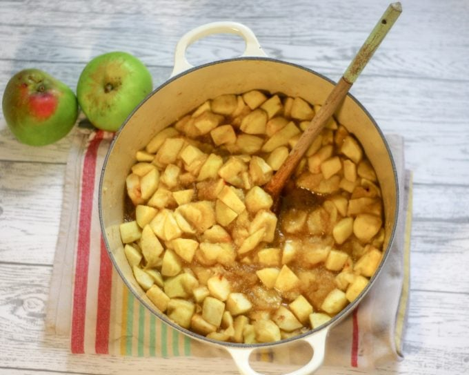 Stewed Apples with Cinnamon- Apple Pie filling