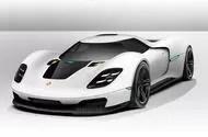 Porsche hypercar render