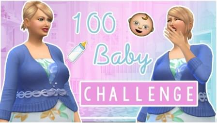 """Sims 4 """"100 Baby"""" Challenge"""