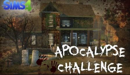 """Sims 4 """"Apocalypse"""" Challenge"""
