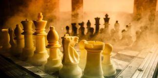 Chess Set Art