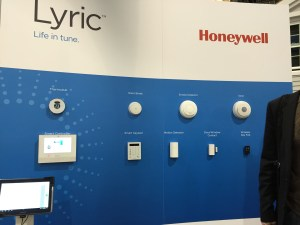 Honeywell CES 2015 Lyric Display