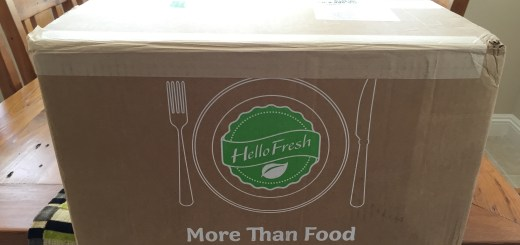 Smart Home Cooking with Hello Fresh