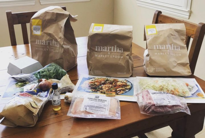 Martha & Marley Spoon Meal Kit Unboxed