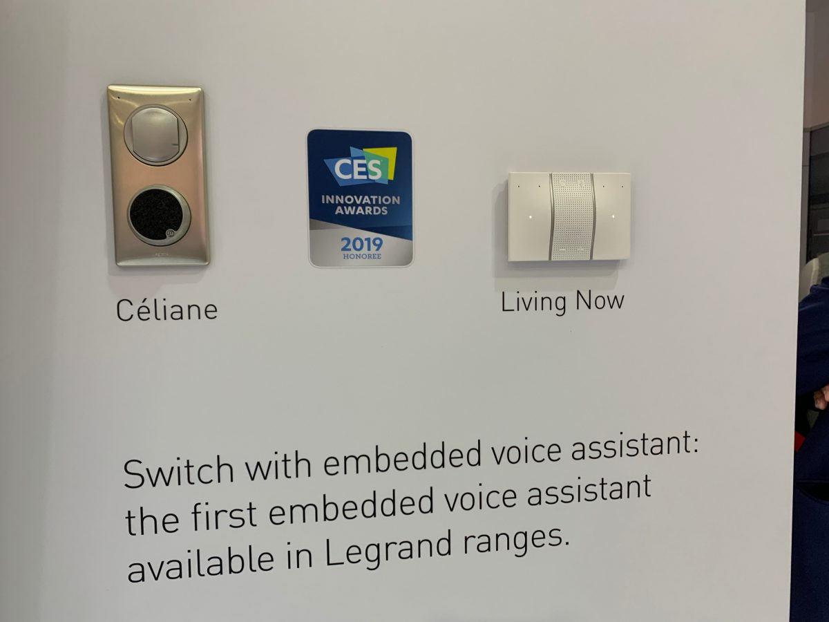Legrand Alexa switches CES smart home gadgets