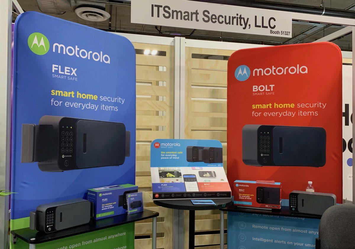 Motorola Smart Safes CES smart home gadgets