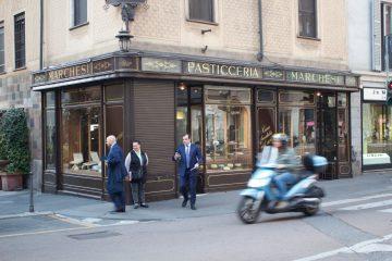 Milan city scene