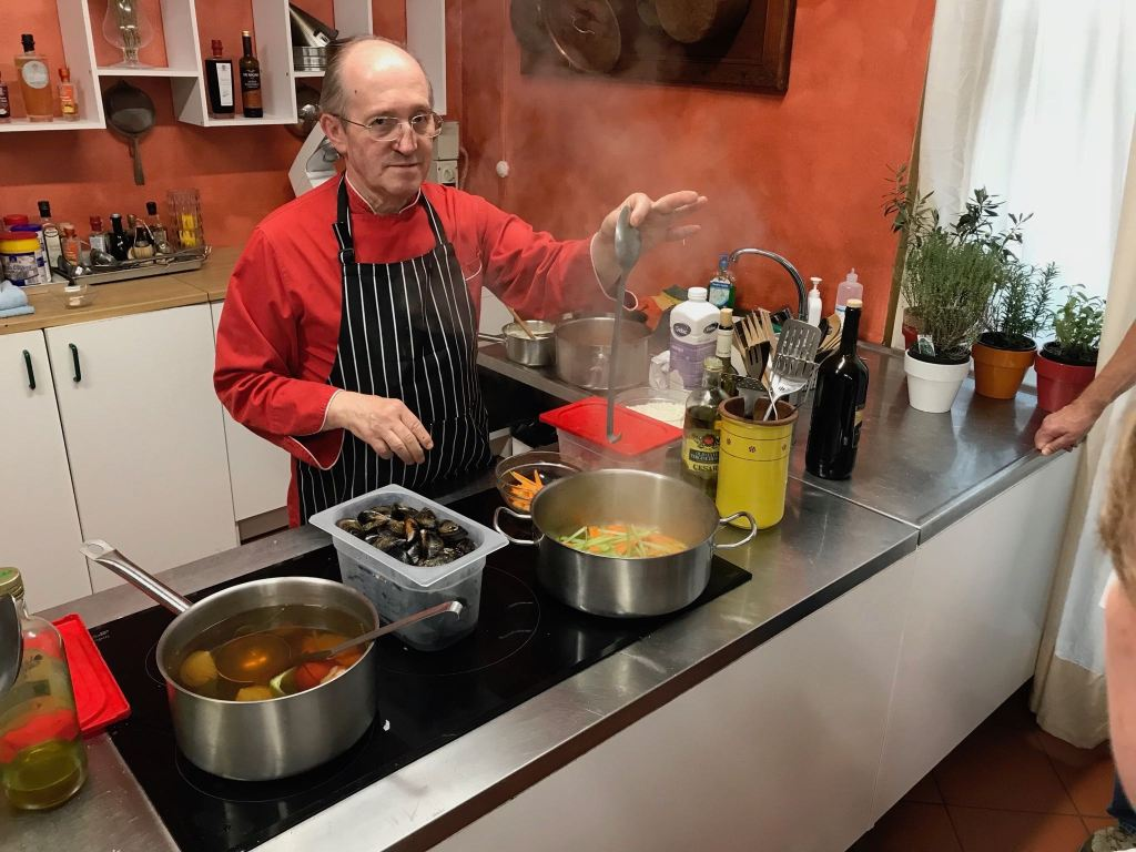 Chef Paulo cooking class Lucca