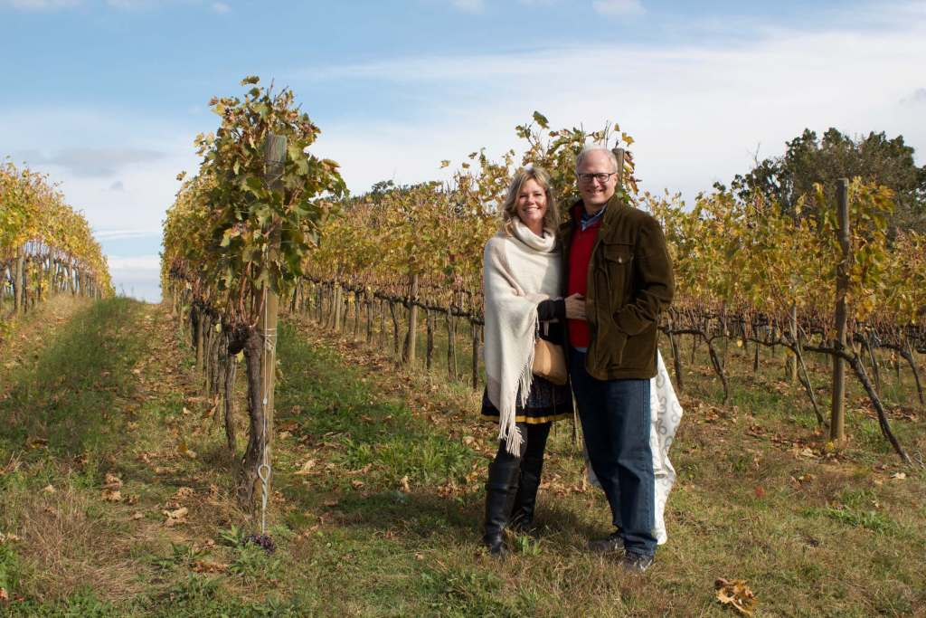 Kari and Pete Hazen of Rancho Roble Vineyards