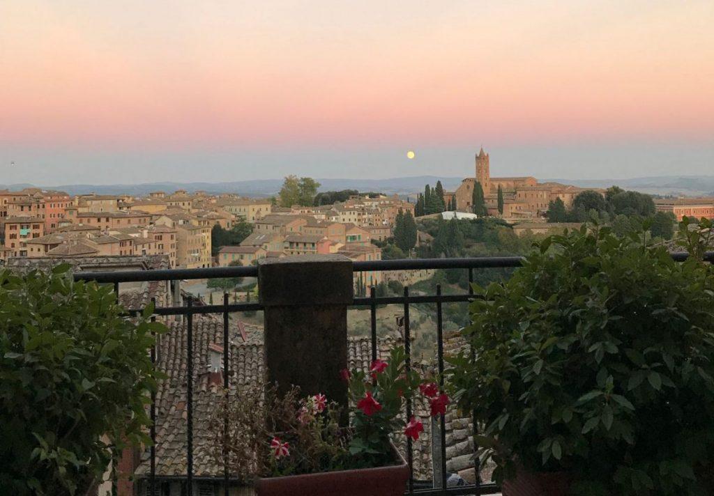 Siena Balcony View