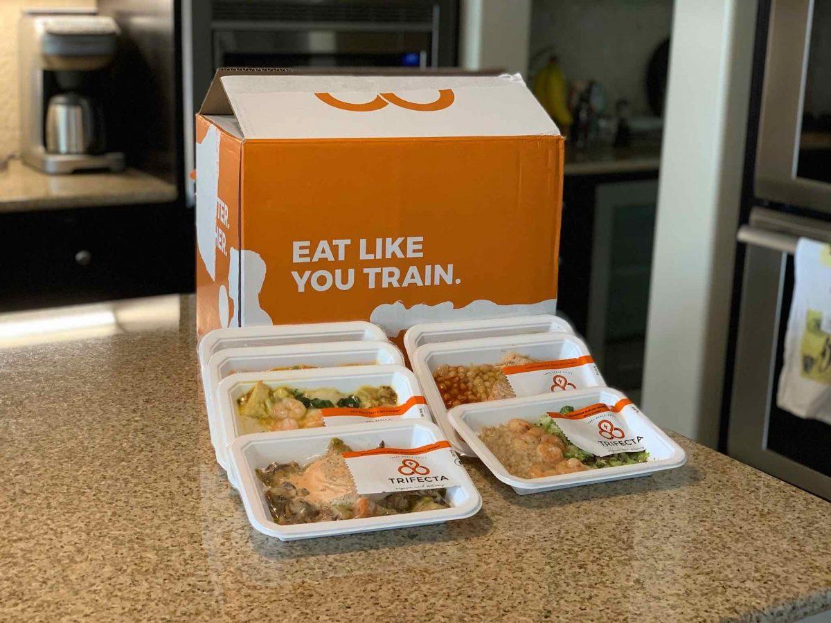 Trifecta box with meals portrait