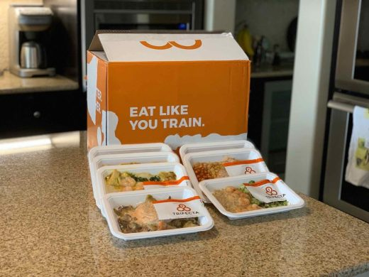 Trifecta box with meals portrait