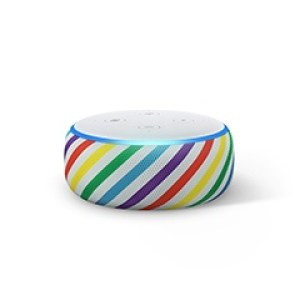 Kids Echo Dot in Rainbow