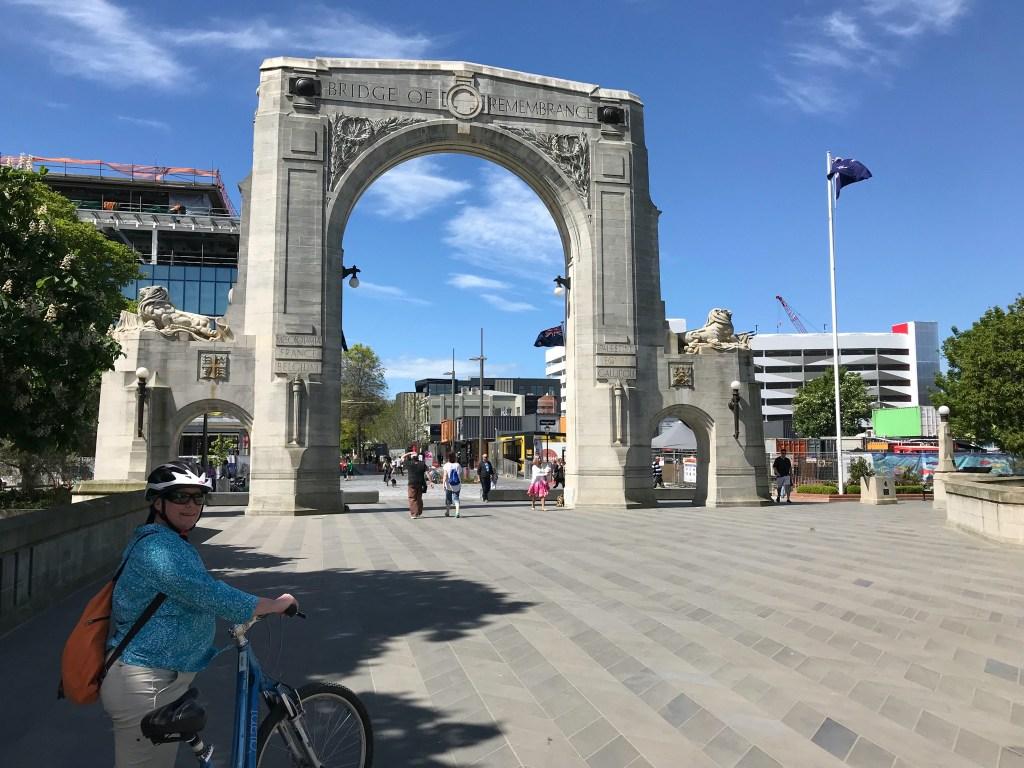 Christchurch New Zealand Bridge of Remembrance