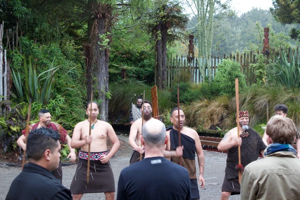 Rotorua New Zealand Tamaki Maori Greeting