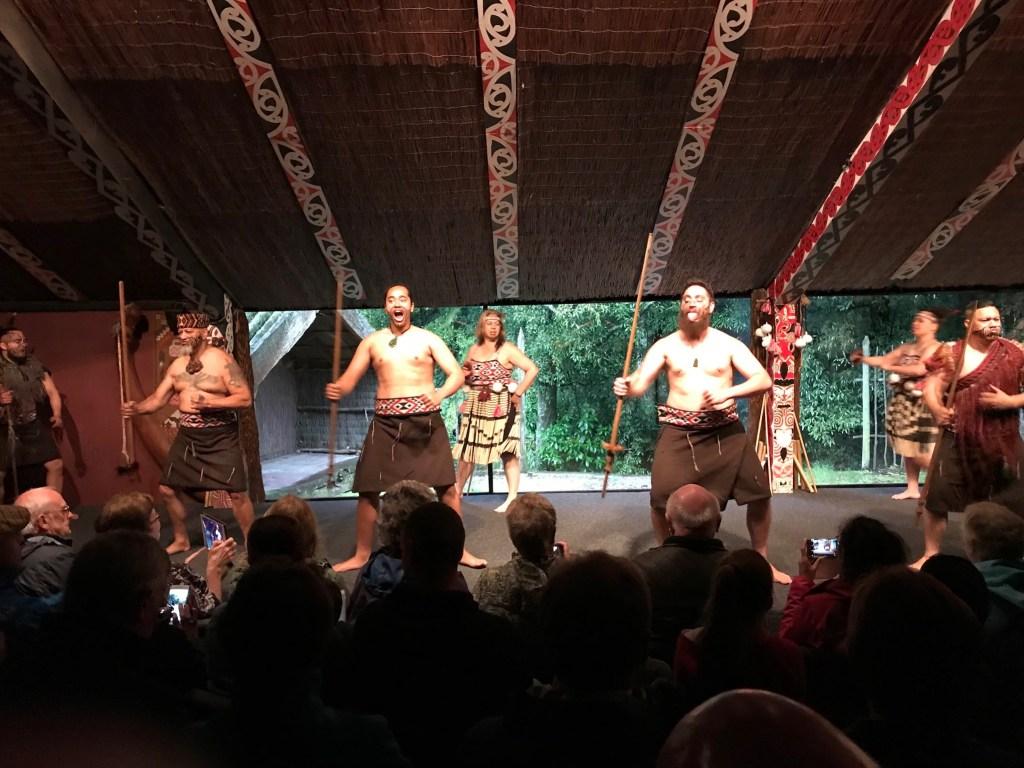 Rotorua New Zealand Tamaki Maori dancing