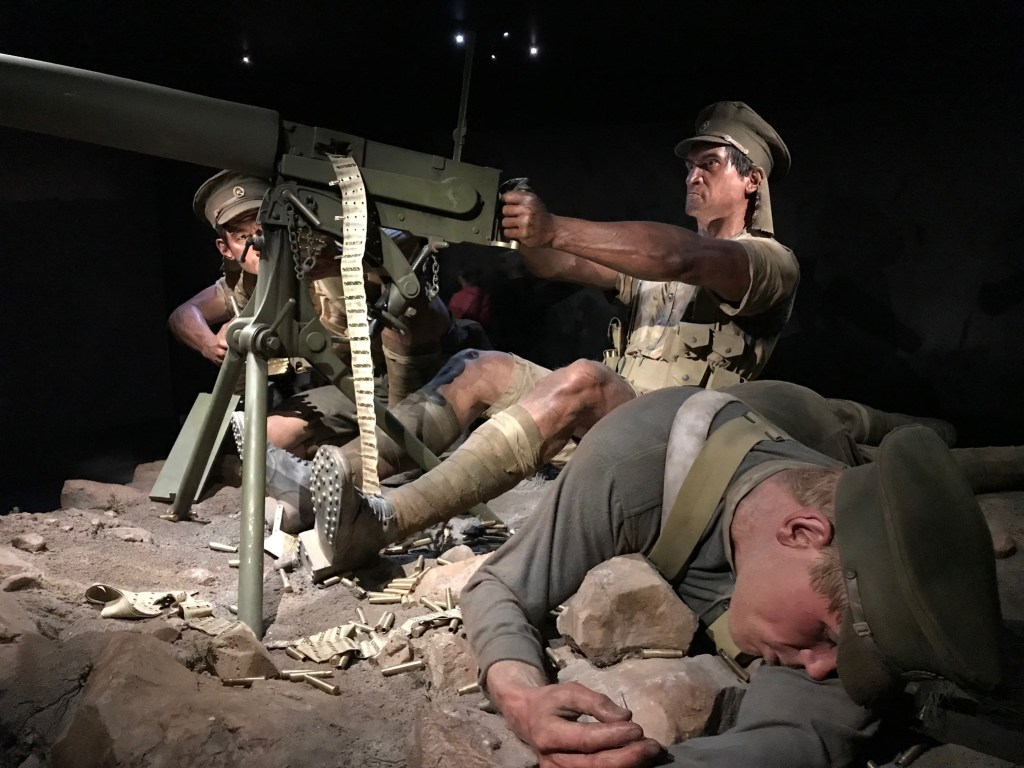 Wellington Te Papa Gallipoli Mortar