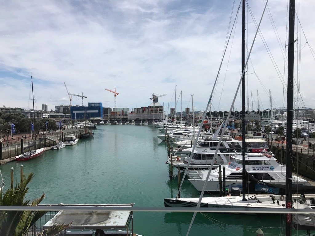 Three days in Auckland Harborside