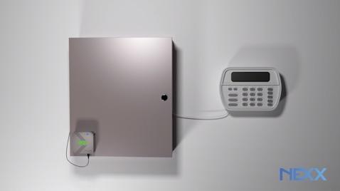 Nexx smart alarm installed