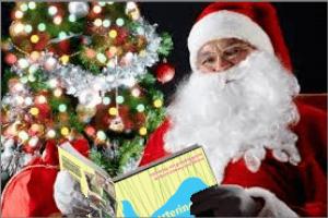 Tomten läser Apportering till vardag och fest