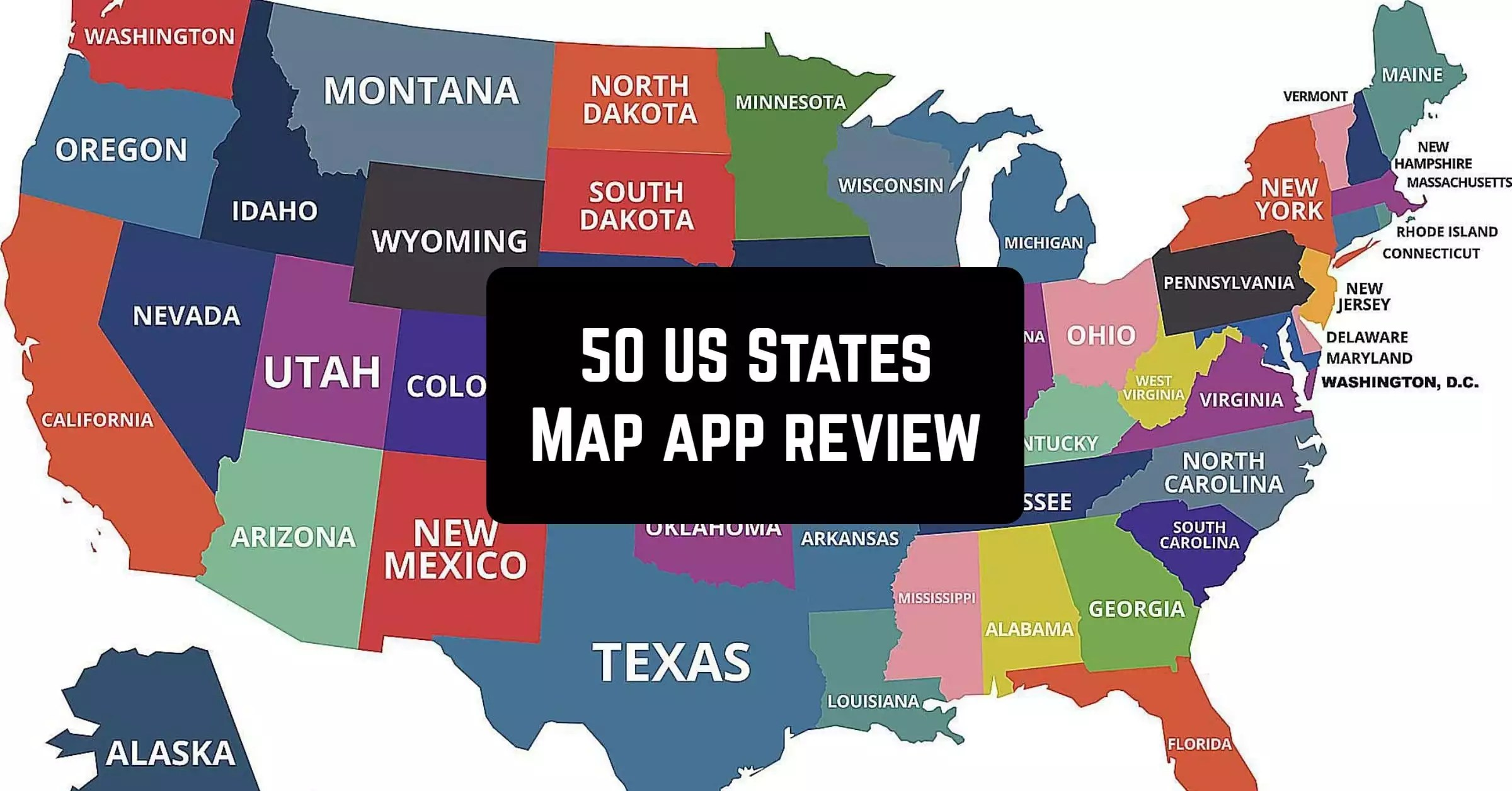 If you think you know your mexican state capitals, then head south of the border and take this q. 50 Us States Map Capitals Flags American Quiz App Review App Pearl Best Mobile Apps For Android Ios Devices