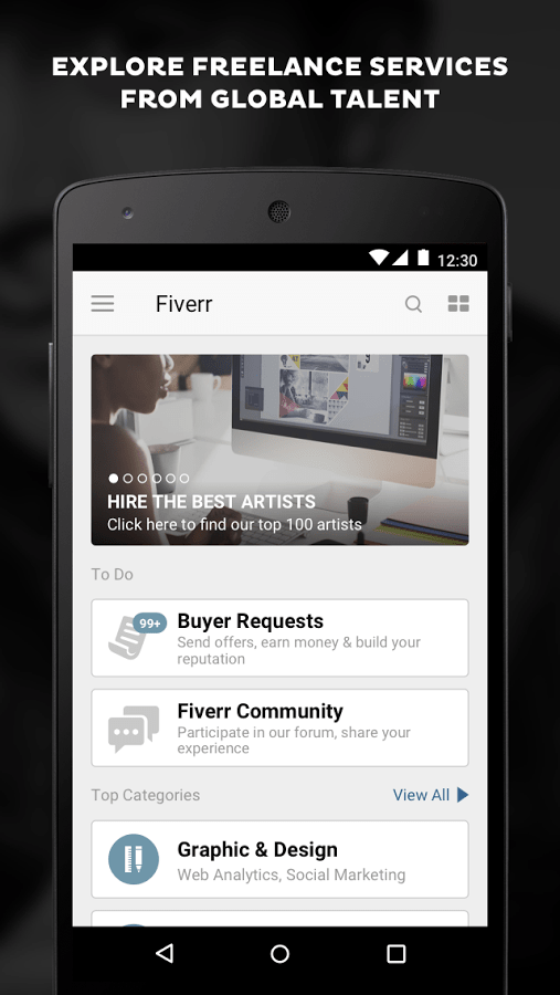 Fiverr – Freelance Services