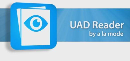 UAD Reader alamode