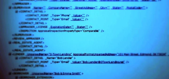 MISMO XML UAD appraisal