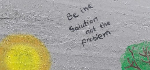 Be Part of the Solution & Stop Being Part of the Problem!