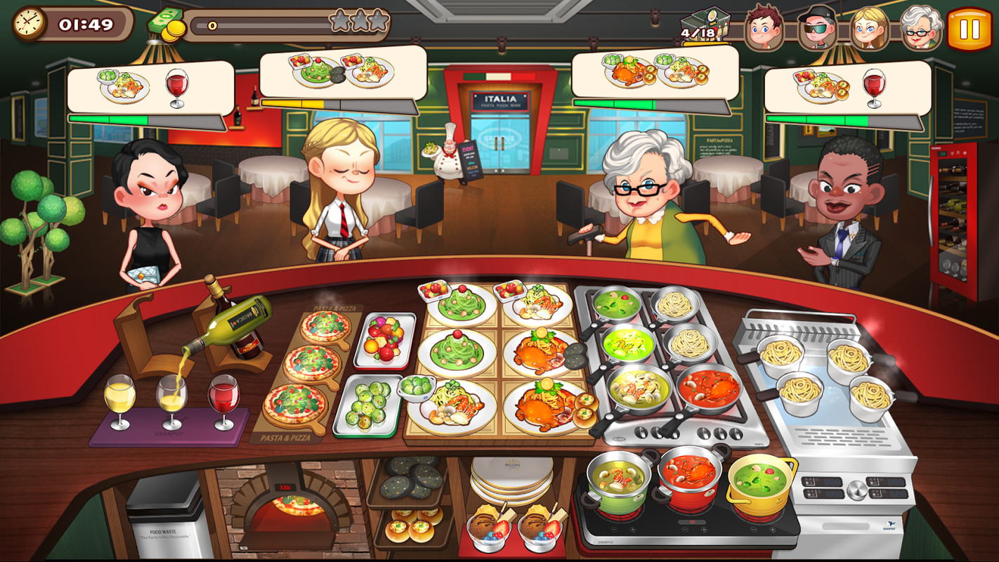 free kitchen games farmhouse style table cooking adventure apk simulation android game