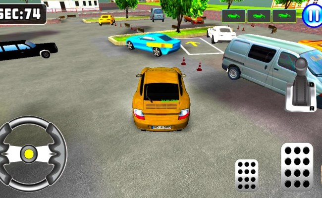3d Sports Car Parking Game Apk Free Simulation Android