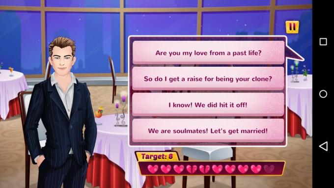 high school dating games online